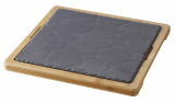 REVOL BASALT,  Bamboo Liner tray for Square plate