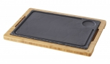 REVOL BASALT, Bamboo Liner tray for Steak plate