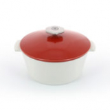 REVOL REVOLUTION 2,  Round cocotte Pepper red